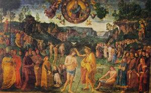 8 perugino - il battesimo di cristo