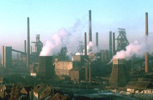 GERMANY - FILES/THYSSES STEEL FACTORY