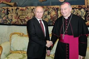 RUSSIA-VATICANO_Parolin-Putin