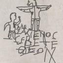 La testimonianza del cosiddetto «crocifisso blasfemo».