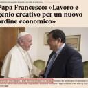 Il lavoro e la dottrina sociale di Papa Francesco