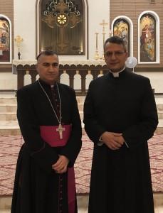 S. E. R. Moms. Bashar Warda, Arcivescovo Caldeo di Erbil (Iraq)