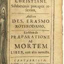 Il Manuale di Erasmo da Rotterdam