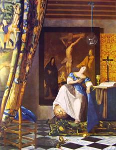 Allegoria della Fede Jan Vermeer (1671 - 1674)