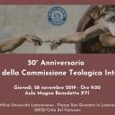 L'umiltà come metodo del teologo. Il 50° anniversario dell'istituzione della Commissione teologica Internazionale