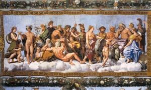 Raffaello_concilio_degli_dei