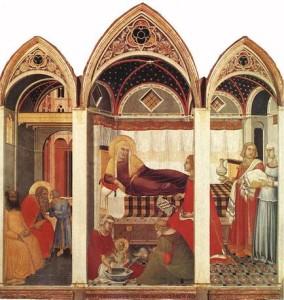 Pietro_lorenzetti,_natività_della_vergine_del_duomo_di_siena,_1342,_tempera_su_tavola_187x182,_museo_dell'opera_del_duomo_di_siena