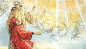 Dante in Paradiso